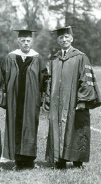 Robert Frost and Edward Lewis