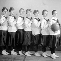 Girls Basketball Team 1920