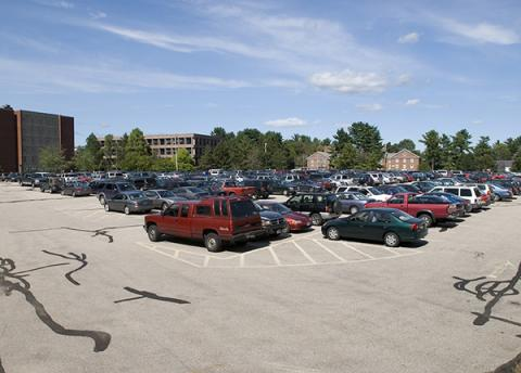 cars in B Lot 2006