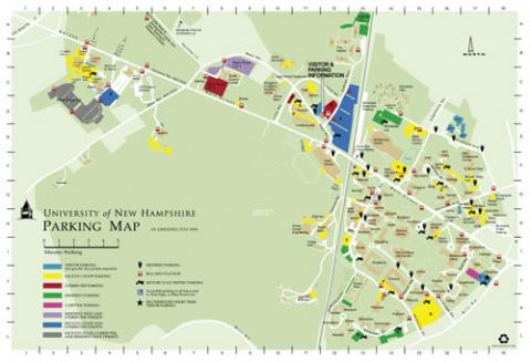 Campus parking map 2006