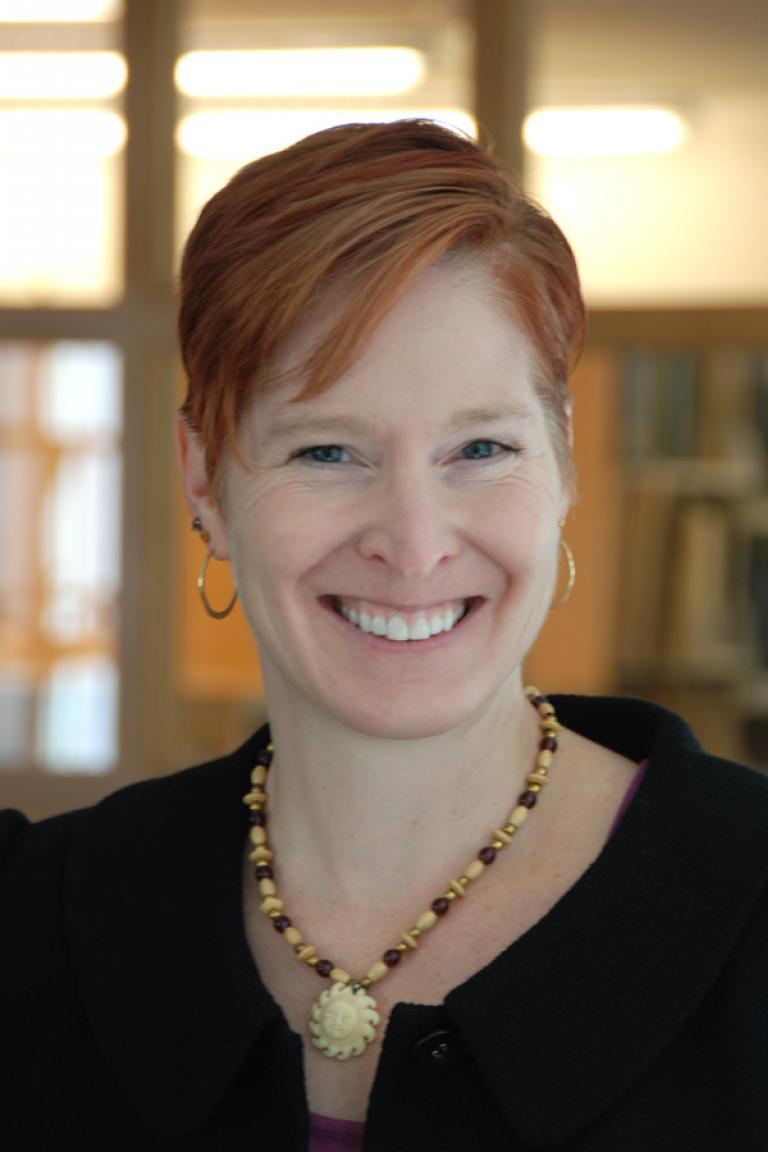 photo of Kathrine Aydelott smiling